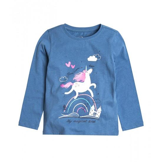"Cool Club Kids T-Shirt blue color ""Unicorn"" CCG1721022"