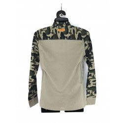 Cropp men's military style shirt