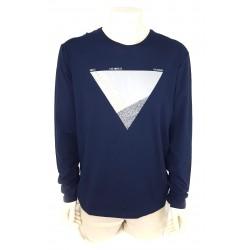 Guess men's t-shirt, navy blue color m64i04j1300