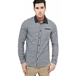 Guess men's checkered shirt m74h43w9aa0-lc70