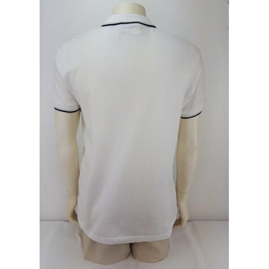 Bruno Leoni men's polo t-shirt, white color A-345