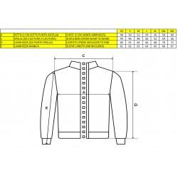 MV Agusta men's sweatshirt MV119M101BL black