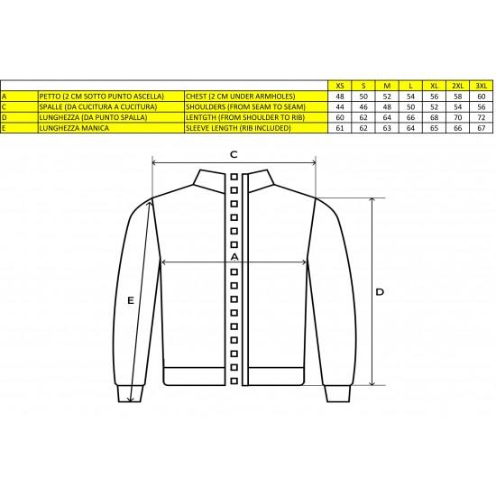 MV Agusta men's sweatshirt MV119M200RE gray / red