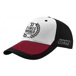 MV Agusta men's baseball cap MV119U602WH black / red / white