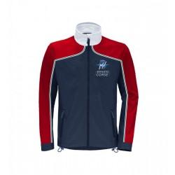 MV Agusta men's jacket MV119M300GR blue/red/white