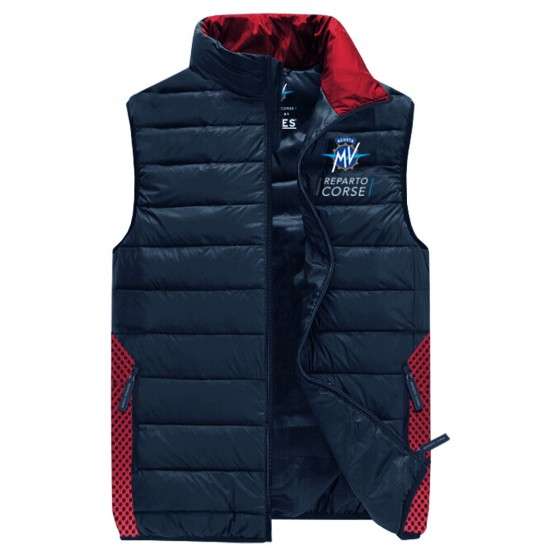 MV Agusta men's vest MV119M301GR blue / red