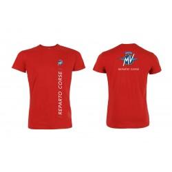 MV Agusta men's t-shirt MV119M001RE red