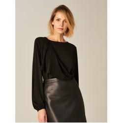 Mohito women's blouse / bodysuit  black color long sleeves