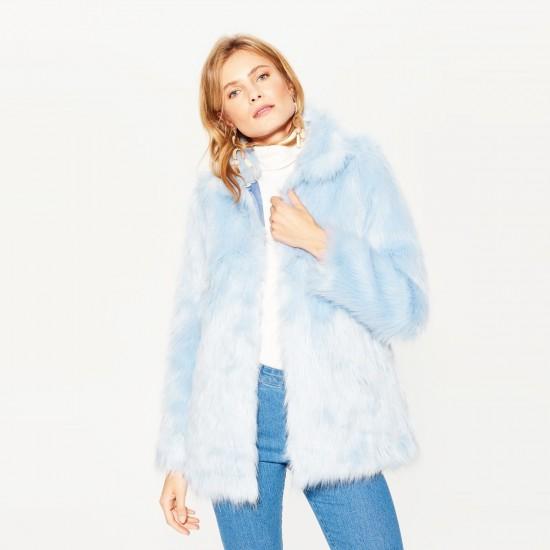 Mohito women's coat light blue color