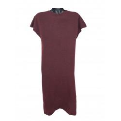 Concept Reserved women's dress burgundy color