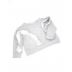 Reserved kids sweater light gray color