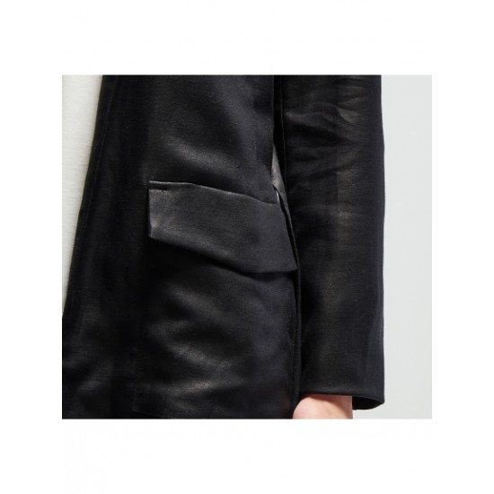 Concept Reserved black blazer without clasp