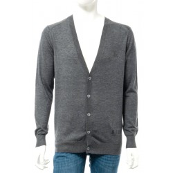 Rich men's sweater, dark grey color
