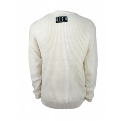 Rich men's sweater, ivory color