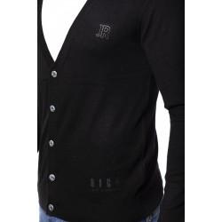 Rich men's sweater, black color