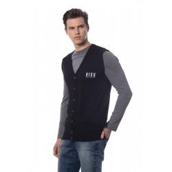 Rich men's sweater/vest, black color