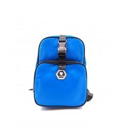 Silvian Heach backpack AHA19006ZA blue color mini