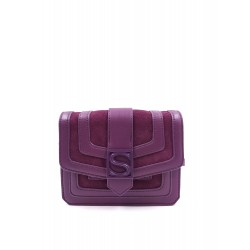 Silvian Heach bag RCA19019BO violet crushed color