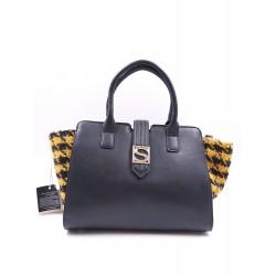 Silvian Heach Bag RCA19032BO BLACK/yellow color