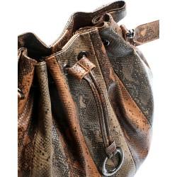 SILVIAN HEACH BAG RCA19160BO python brown / python caramel