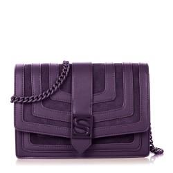 Silvian Heach Bag RCA19018BO dark violet color