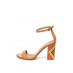 Silvian Heach Women's shoes RCP19030CZ Caramel