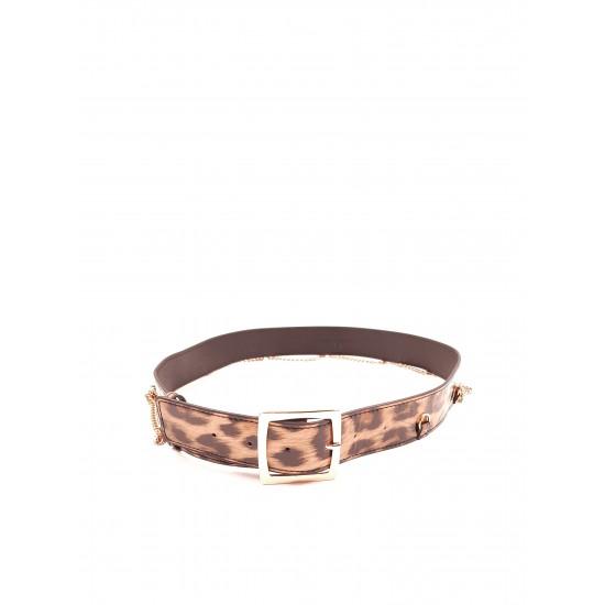 SILVIAN HEACH BELT RCA19056CI leopard print