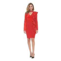 """Silvian Heach women's dress """"zemura"""" PGA19300VE red color"""