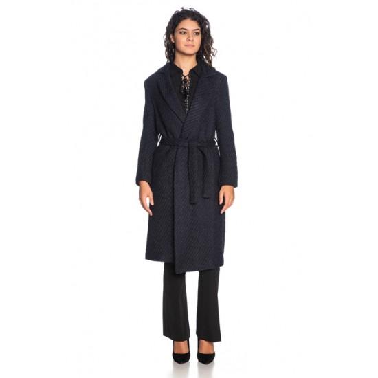 Silvian Heach women's coat PGA19177CP BLUE