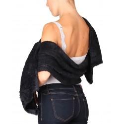 Silvian Heach scarf AHA19013SC black