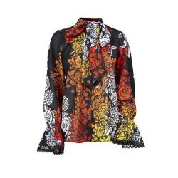 Silvian Heach women's shirt CVA19019CA flowers