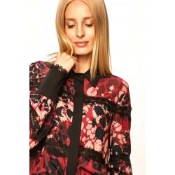 Silvian Heach women's shirt CVA19020CA macu lipstick