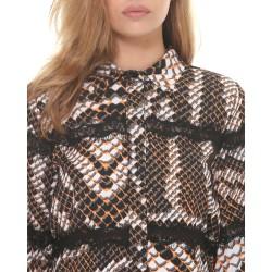 Silvian Heach women's shirt CVA19020CA python