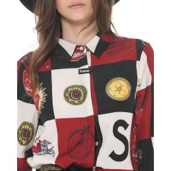 Silvian Heach women's shirt CVA19210CA fantasy unique
