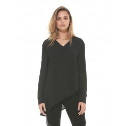 Silvian Heach women's shirt PGA19321BL black
