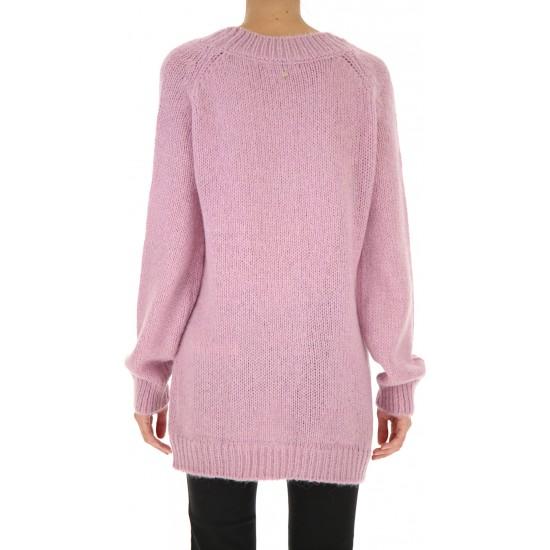 Silvian Heach women's sweater PGA19188MA LAVANDER PINK COLOR