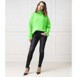 Silvian Heach women's sweater PGA19192LU GREEN COLOR