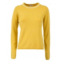 Silvian Heach women's sweater PGA19258MA YELLOW COLOR
