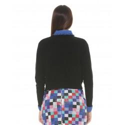 Silvian Heach women's sweater SHA19205MA BLACK COLOR