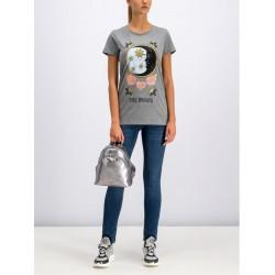 Silvian Heach women's t-shirt CVA19387TS light grey