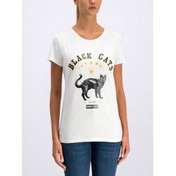 Silvian Heach women's t-shirt CVA19390TS milk white