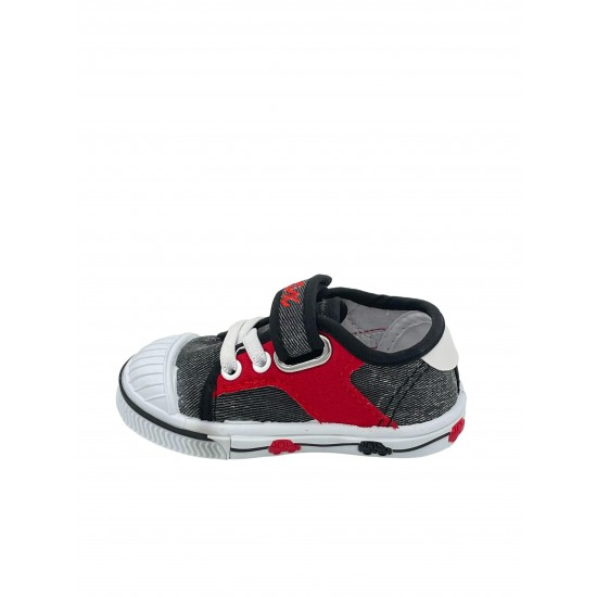COX kids shoes 3382/7 gray / red