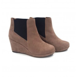 Sinsay imitation suede leather women's shoes