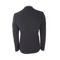 Sisley Men's Cotton Blazer 2za852779 19e Dark Gray Color