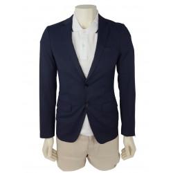 Sisley men's blazer 2ya6526y9 911 navy blue color