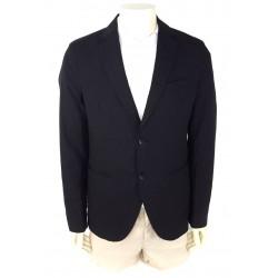 Sisley Men's Cotton Jacket 2yl452729 901 Black Color