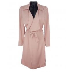 Sisley women's raincoat light pink color 2cwask2u6 05r