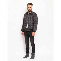 Top Secret men's jacket dark gray color