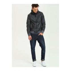 The DryWash Top Secret Men's Impregnated Black Color Jacket