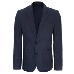 Top Secret men's cotton blazer navy blue color